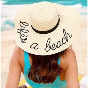 🆕 Life's A Beach Sun Hat